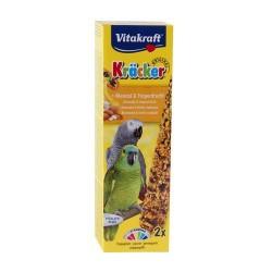 Vitakraft Kräckers til Papegøje med Mandel og Tropefrugt