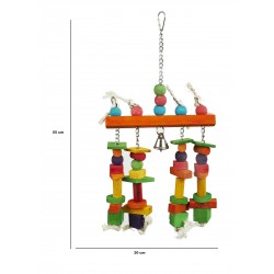 Fire På Stribe - Fuglelegetøj