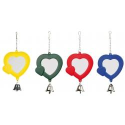 Hjerte Spejl - fuglelegetøj