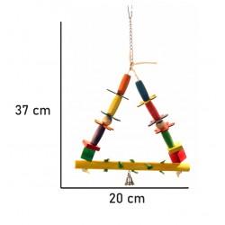 Flower Power Gynge - fuglegynge - fuglelegetøj