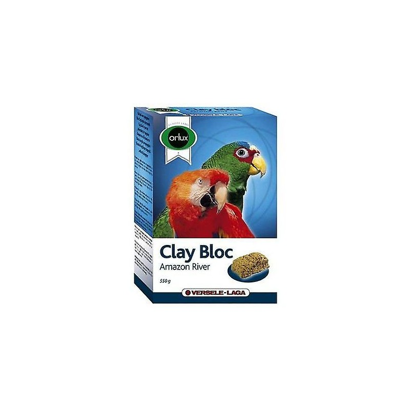 Orlux Clay Bloc Amazon River - fugletilbehør