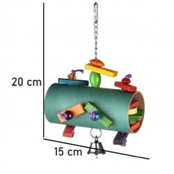 Fastelavnstønde - fuglelegetøj til fuglebur